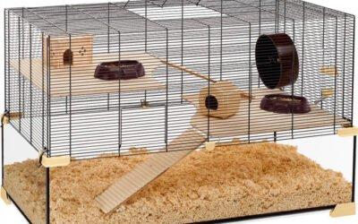 Arricchimento gabbie per piccoli roditori