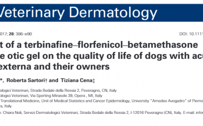 Impact of a terbinafine–florfenicol–betamethasoneacetate otic gel on the quality of life of dogs with acuteotitis externa and their owners